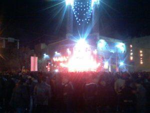 اعتراض شبانه در نجف آباد برگزاری مسالمت آمیز اعتراض ها در نجف آباد برگزاری مسالمت آمیز  اعتراض ها در نجف آباد/ میانداری زنان ثروتمند                         300x225