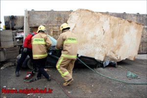 تصادف در نجف آباد تصادف وحشتناک و مرگبار در جاده نجف آباد به تیران+ تصاویر تصادف وحشتناک و مرگبار در جاده نجف آباد به تیران+ تصاویر 1574485315 I9iC4 300x200
