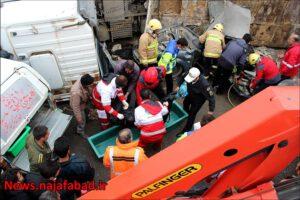 تصادف در نجف آباد تصادف وحشتناک و مرگبار در جاده نجف آباد به تیران+ تصاویر تصادف وحشتناک و مرگبار در جاده نجف آباد به تیران+ تصاویر 1574485370 B1hR5 300x200