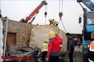 سقوط سنگ تصادف وحشتناک و مرگبار در جاده نجف آباد به تیران+ تصاویر تصادف وحشتناک و مرگبار در جاده نجف آباد به تیران+ تصاویر 1574486056 D0rH1 300x200