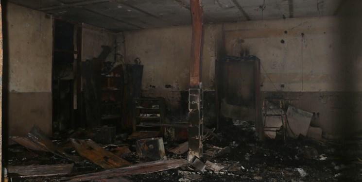دستگیری ۳ نفر از عوامل آتش زدن پارک ملت در نجف آباد