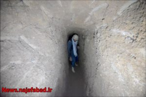 حفر قنات و چاه جذبی استفاده از مزیت قنات در دفع روان آبهای نجف آباد استفاده از مزیت قنات در دفع روان آبهای نجف آباد + تصاویر و فیلم                           1 300x200