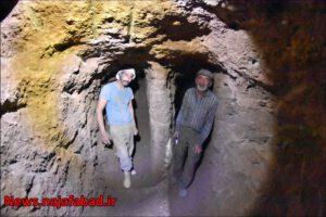 حفر قنات و چاه جذبی استفاده از مزیت قنات در دفع روان آبهای نجف آباد استفاده از مزیت قنات در دفع روان آبهای نجف آباد + تصاویر و فیلم                           5 300x200