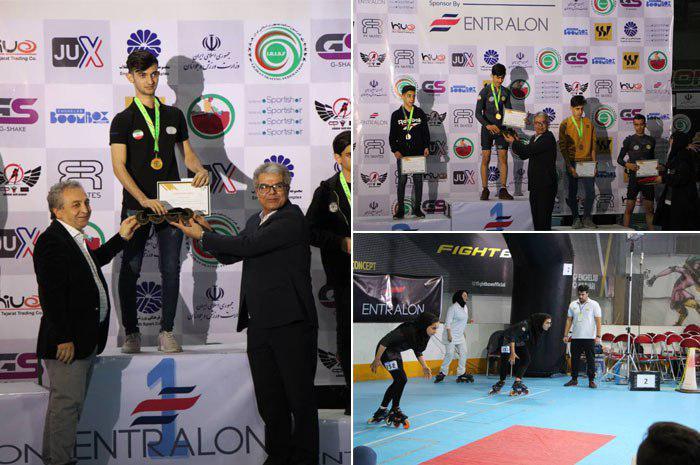 درخشش اسکیت نجف آباد در مسابقات بین المللی + تصاویر