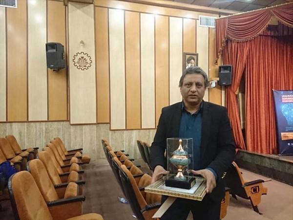 انتخاب استاد دانشگاه آزاد نجف آباد به عنوان پژوهشگر برتر