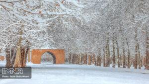 بارش برف در نجف آباد کاهش بارندگی ها در نجف آباد + تصاویر بارش برف کاهش بارندگی ها در نجف آباد + تصاویر بارش برف                                      15 300x169