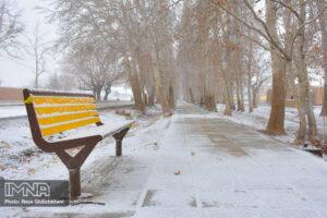 بارش برف در نجف آباد کاهش بارندگی ها در نجف آباد + تصاویر بارش برف کاهش بارندگی ها در نجف آباد + تصاویر بارش برف                                      4 300x200