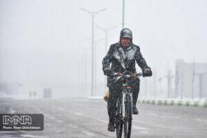 بارش برف در نجف آباد کاهش بارندگی ها در نجف آباد + تصاویر بارش برف کاهش بارندگی ها در نجف آباد + تصاویر بارش برف                                      5 300x200