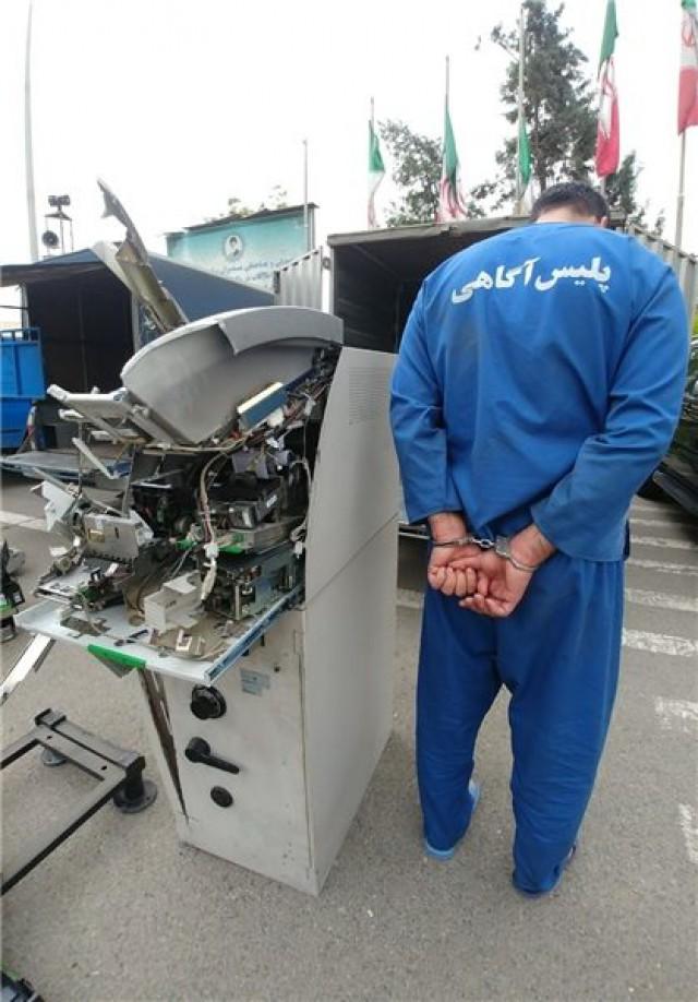 بازداشت تخریب کنندگان خودپرداز در نجف آباد