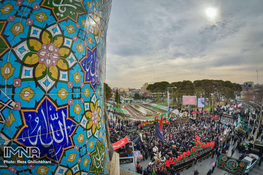 عزاداری فاطمیه در نجف آباد+تصاویر