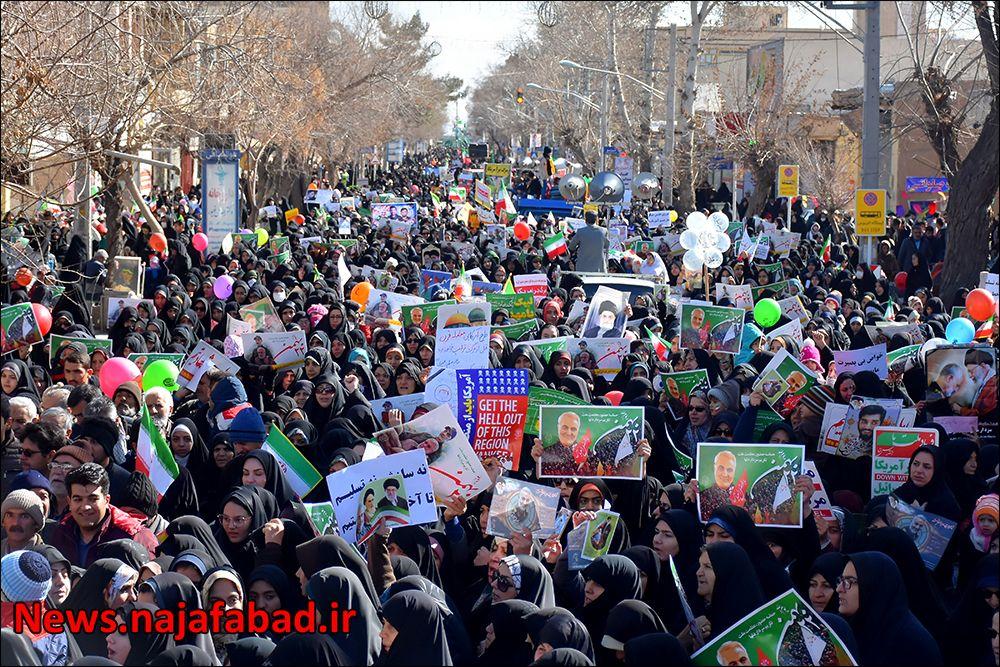 راهپیمایی ۲۲ بهمن ۹۸ در نجف آباد+تصاویر راهپیمایی ۲۲ بهمن ۹۸ در نجف آباد+تصاویر 1581484362 F4aI1