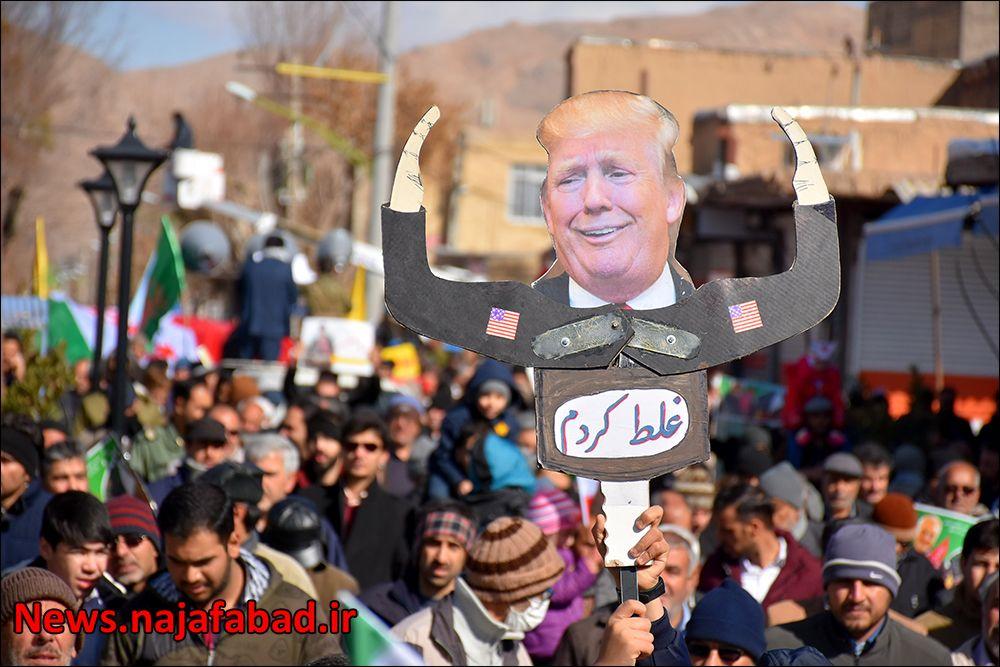 راهپیمایی ۲۲ بهمن ۹۸ در نجف آباد+تصاویر راهپیمایی ۲۲ بهمن ۹۸ در نجف آباد+تصاویر 1581484378 S6uK3