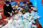 توزیع ۱۲هزار بسته بهداشتی در یزدانشهر
