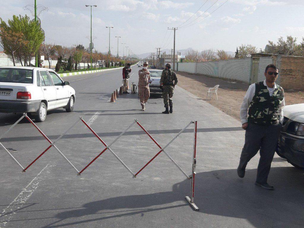 ضدعفونی معابر شهر و ایست و بازرسی توسط حوزه 3 مقاومت بسیج امام حسین ادامه غربالگری در ورودی های نجف آباد+تصاویر ادامه غربالگری در ورودی های نجف آباد+تصاویر               6 1024x768