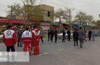 انسداد ورودی های نجف آباد+تصاویر و فیلم