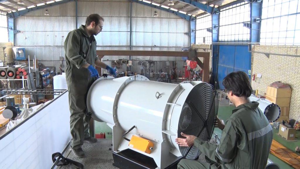 ساخت دستگاه ضدعفونی معابر در نجف آباد