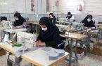 تولید روزانه ۵ هزار ماسک پارچهای در نجف آباد+تصاویر