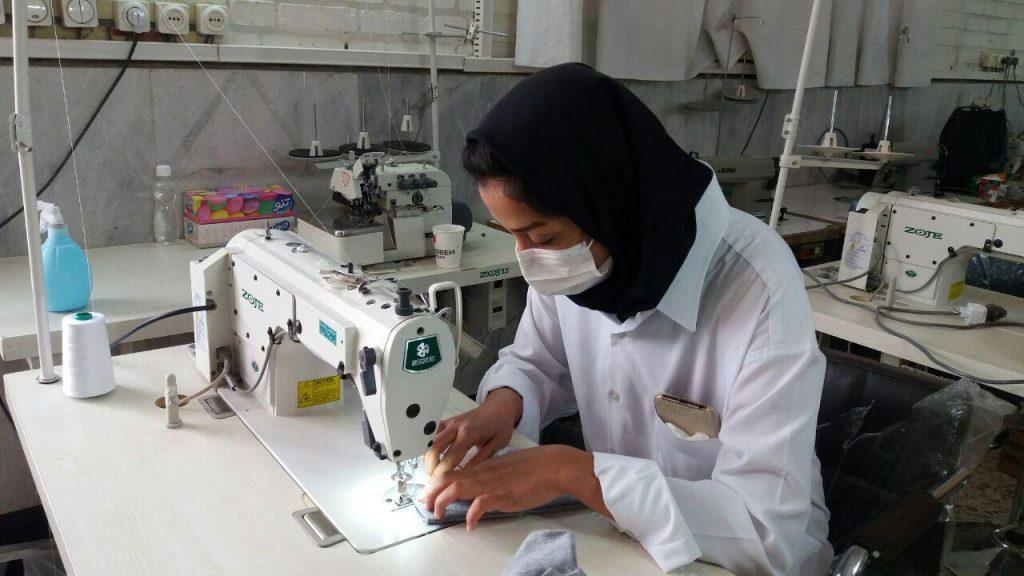 تولید ماسک در دانشکده سمیه نجف آباد تولید روزانه ۵ هزار ماسک پارچهای در نجف آباد+تصاویر تولید روزانه ۵ هزار ماسک پارچهای در نجف آباد+تصاویر photo                                   1024x576