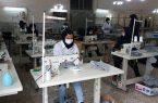 تولید ماسک در دانشکده سمیه نجف آباد+فیلم