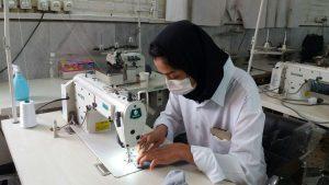 تولید ماسک در دانشکده سمیه نجف آباد تولید روزانه هزار عدد ماسک در سمای نجفآباد تولید روزانه هزار عدد ماسک در سمای نجفآباد photo                                   300x169