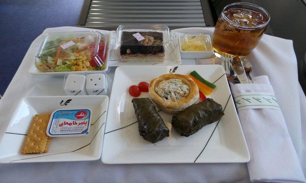 غذای هواپیما خوشمزهترین ایرلاینهای ایرانی را بشناسید خوشمزهترین ایرلاینهای ایرانی را بشناسید photo 2020 03 03 15 35 03