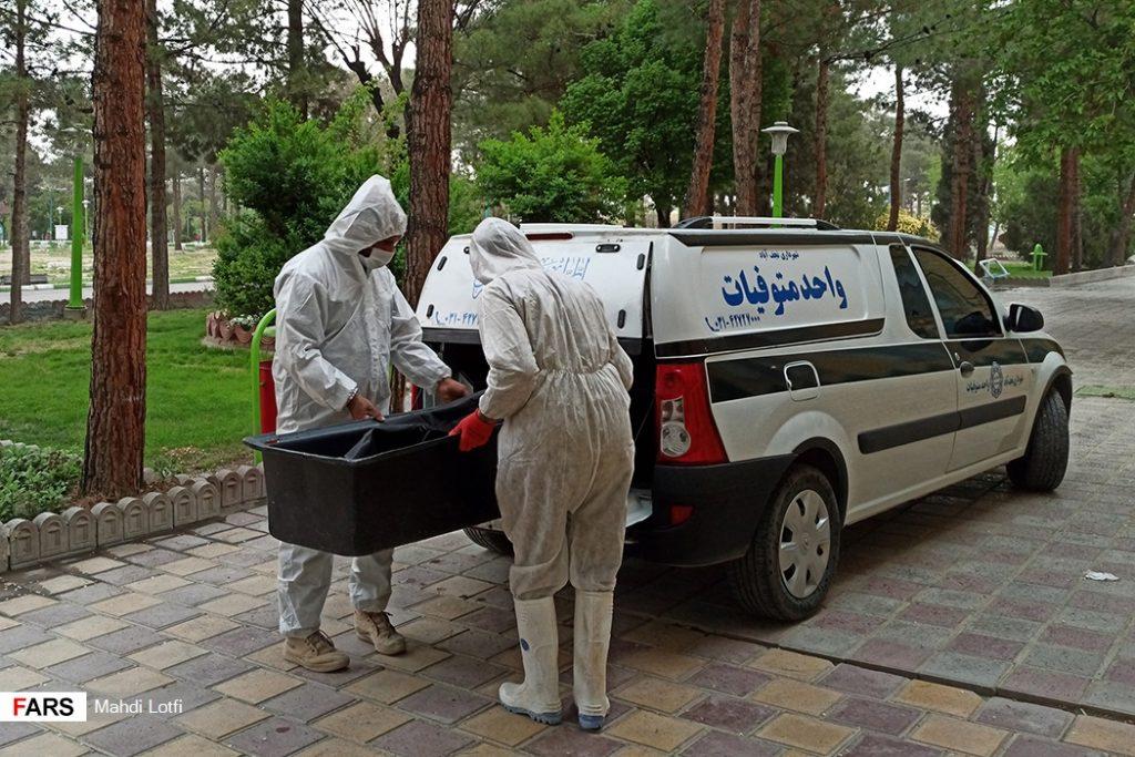 فوت تا تدفین بیمار کرونایی در نجف آباد از تخت تا قبر یک کرونایی در نجف آباد+تصاویر از تخت تا قبر یک کرونایی در نجف آباد+تصاویر                                                                       17 1024x683