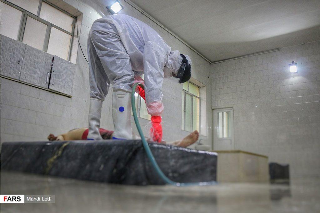 فوت تا تدفین بیمار کرونایی در نجف آباد از تخت تا قبر یک کرونایی در نجف آباد+تصاویر از تخت تا قبر یک کرونایی در نجف آباد+تصاویر                                                                       2 1024x683
