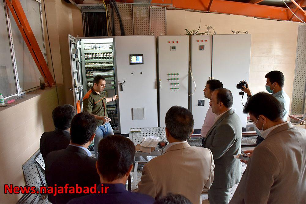 بازدید از کشتارگاه صنعتی نجف آباد کشتارگاه نجفآباد، آبروی کشور و قطب صادرات خواهد شد کشتارگاه نجفآباد، آبروی کشور و قطب صادرات خواهد شد 1589082124 Z3vH0