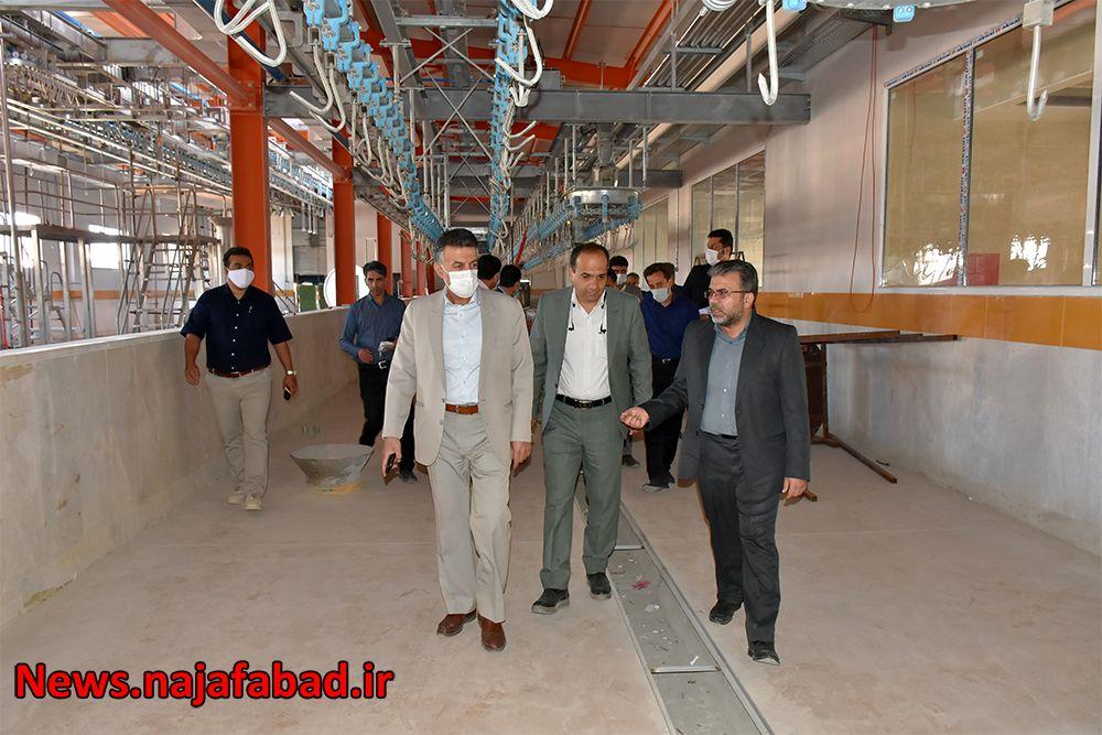 بازدید از کشتارگاه صنعتی نجف آباد کشتارگاه نجفآباد، آبروی کشور و قطب صادرات خواهد شد کشتارگاه نجفآباد، آبروی کشور و قطب صادرات خواهد شد 1589082131 O3gM6