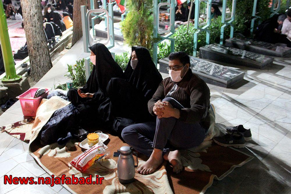 احیاء رمضان در گلزار شهدای نجف آباد اولین احیاء کرونایی در نجف آباد+تصاویر اولین احیاء کرونایی در نجف آباد+تصاویر 1589353125 V1fN1