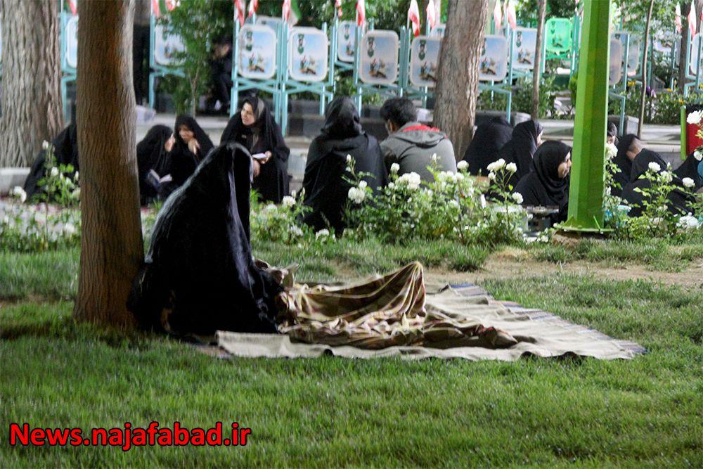 احیاء رمضان در گلزار شهدای نجف آباد اولین احیاء کرونایی در نجف آباد+تصاویر اولین احیاء کرونایی در نجف آباد+تصاویر 1589353262 M3eI7