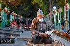 روضه دهه سوم محرم در گلزار شهدای نجف آباد+نماهنگ