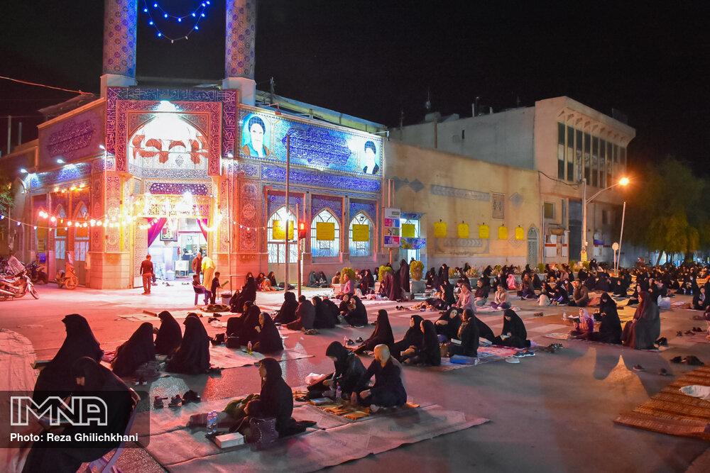 مراسم احیاء شب بیست و سوم رمضان سال99 در نجف آباد احیاء بیست و سوم رمضان سال۹۹ در نجف آباد+تصاویر احیاء بیست و سوم رمضان سال۹۹ در نجف آباد+تصاویر 1637283
