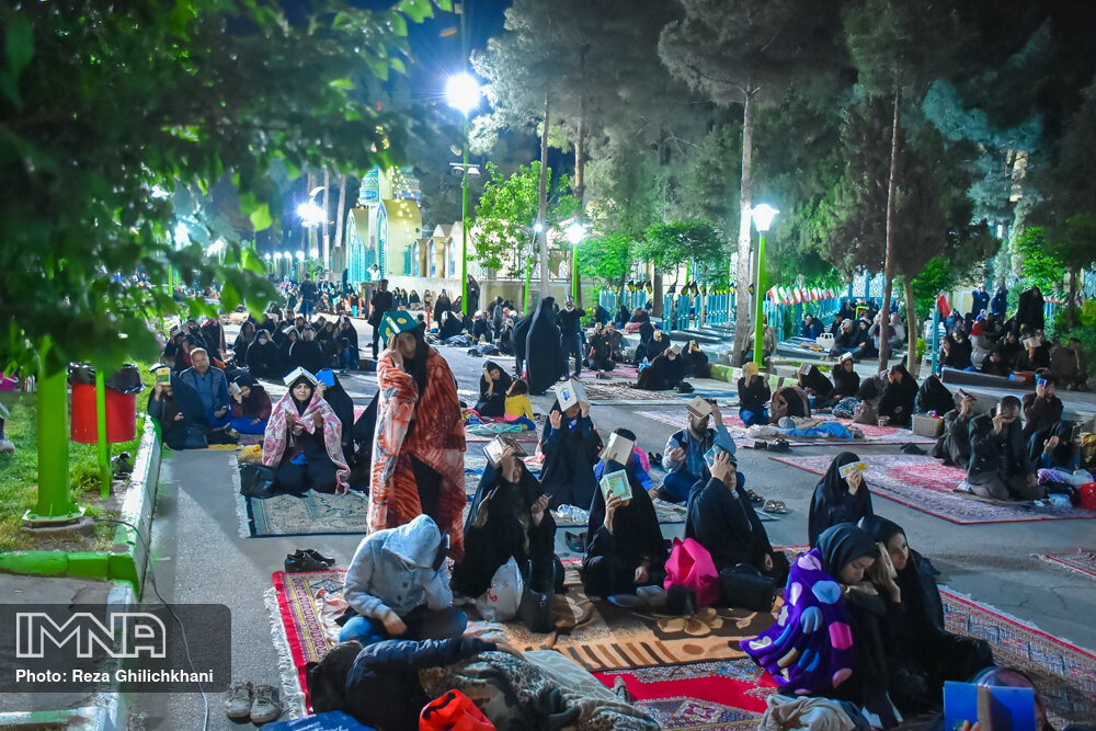 مراسم احیاء شب بیست و سوم رمضان سال99 در نجف آباد احیاء بیست و سوم رمضان سال۹۹ در نجف آباد+تصاویر احیاء بیست و سوم رمضان سال۹۹ در نجف آباد+تصاویر 1637298