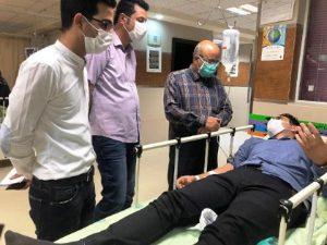 دکتر امیر حسین شاهینی ضرب و شتم یک مسئول بهداشتی در نجف آباد+تصویر ضرب و شتم یک مسئول بهداشتی در نجف آباد+تصویر                                         300x225