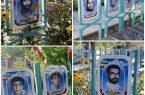 اعتراض برخی خانواده شهدای نجف آباد به تصاویر شهدا+فیلم