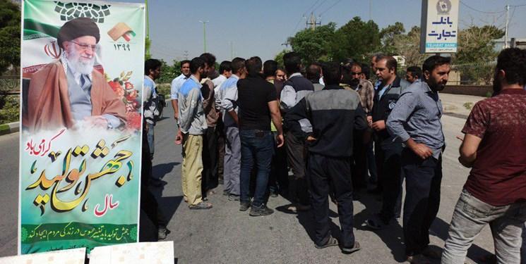 اعتراض کارگران کاشی اصفهان تعطیلی دوباره کارخانه کاشی اصفهان در نجف آباد تعطیلی دوباره کارخانه کاشی اصفهان در نجف آباد+فیلم 13990331000349 Test PhotoN