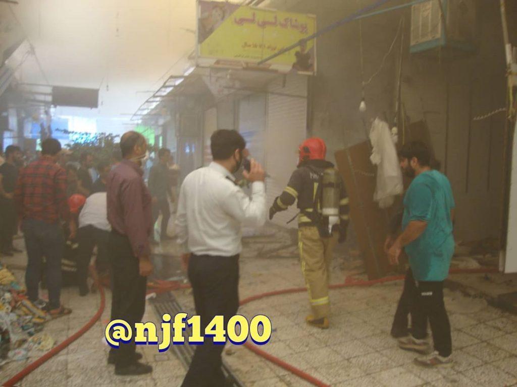 آتش سوزی در بازار نجف آباد اعلام علت آتش سوزی در بازار نجف آباد+تصاویر جدید اعلام علت آتش سوزی در بازار نجف آباد+تصاویر جدید 2 1024x768