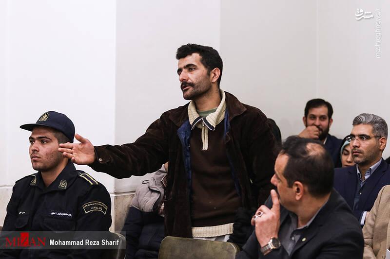 دادگاه قاتل شهید سجاد شاهسنایی اعدام قاتل شهید شاهسنایی+تصاویر و فیلم اعدام قاتل شهید شاهسنایی+تصاویر و فیلم 2455545