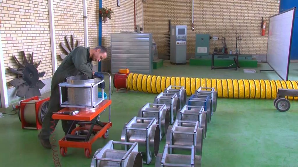 تولید فن های ضدانفجار در شرکت خذال در نجف آباد ساخت فن های ضد انفجار در شهرک صنعتی نجف آباد+تصاویر و فیلم ساخت فن های ضد انفجار در شهرک صنعتی نجف آباد+تصاویر و فیلم 5096653 117 1024x576