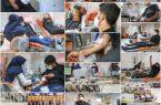 استقبال نجف آبادی ها از نذر خون+تصویر