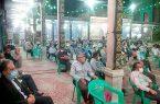 همایش چهل سالگی دفاع مقدس در حسینیه اعظم نجف آباد+تصاویر