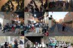 برگزاری روضه در خیابان نمازی نجف آباد+فیلم و تصویر