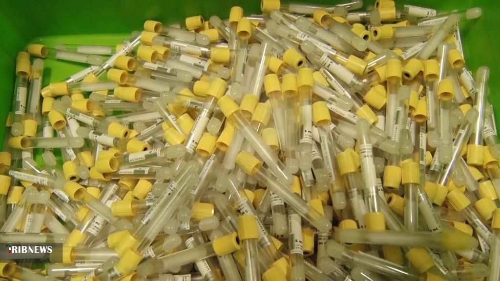 تولید لوله های آزمایشگاهی در شرکت فرزانه آرمان تولید لوله های آزمایش کرونا در نجف آباد با سرمایه گذاری ۳۰ میلیاردی تولید لوله های آزمایش کرونا در نجف آباد با سرمایه گذاری ۳۰ میلیاردی+فیلم و تصاویر 5279242 564 1024x576