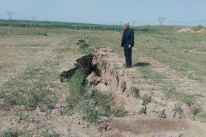 نشست زمین نشست خطرناک زمین در نجف آباد نشست خطرناک زمین در نجف آباد                   300x200