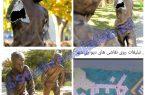 برخورد قضایی با تخریب کنندگان نشان های شهری نجف آباد