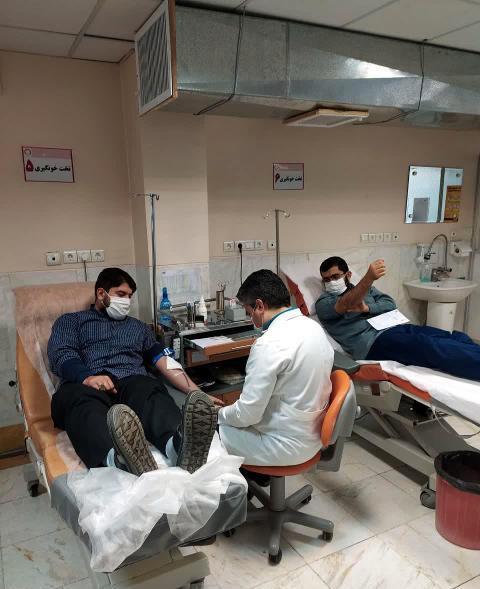 تصاویر اهدای خون طلاب نجف آباد پاییز۱۳۹۹ اهدای خون طلاب نجف آباد+تصاویر اهدای خون طلاب نجف آباد+تصاویر                                                                              1399 8