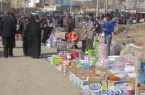 جمعه بازار نجف آباد در شرایط کرونایی+فیلم