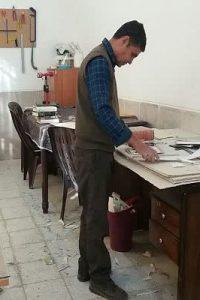 حمید یارمحمدی کتابدار نجف آباد راه اندازی صحافی کتابخانه های عمومی نجف آباد راه اندازی صحافی کتابخانه های عمومی نجف آباد                           200x300