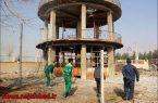تخریب تدریجی منبع آب قدیمی ویلاشهر+تصاویر
